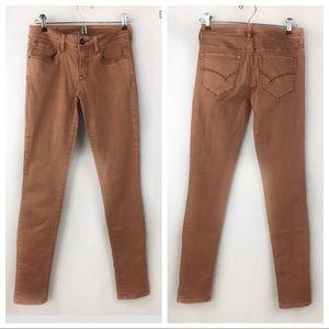 Bullhead Black Skinniest Juniors 5 Mauve Pants